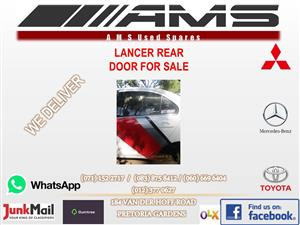 MITSUBISHI LANCER LEFT REAR DOOR FOR SALE (SECOND HAND)