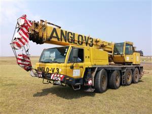 Faun ATF60-4, 60 Ton Mobile Crane