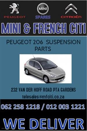 Peugeot 206 Suspension parts For Sale.