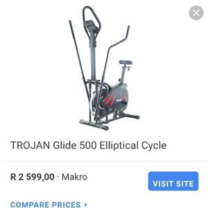 Trojan glide 500 exercise bicycle