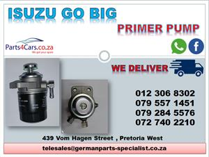 ISUZU GO BIG NEW PRIMER PUMP FOR SALE