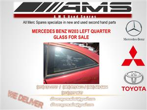 MERCEDES BENZ W203 QUARTER GLASS FOR SALE