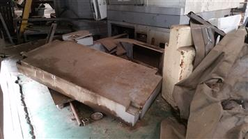 Damaged Vertical Turning Centre Machine - ON AUCTION