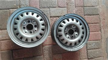 2 by Toyota VW Honda Rims 13 Inch
