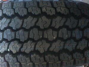 Tyres. 215/80R15c Goodyear Wrangler