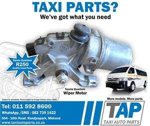 Toyota Quantum WIPER MOTOR - quality used spare parts - Taxi Auto Parts TAP