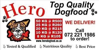 HERO DOG FOOD