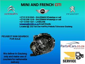 Peugeot 5008 gearbox for sale