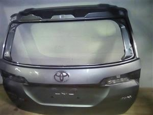 Toyota tailgates and boot lids for sale