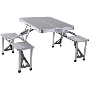 Aluminium Foldable Table with Chairs