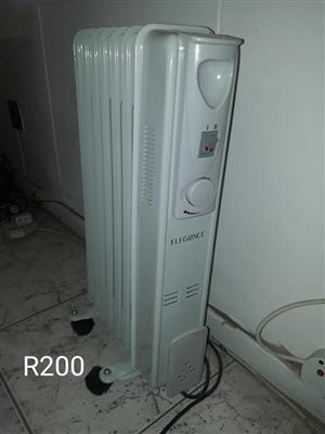 Elegance oil heater for sale