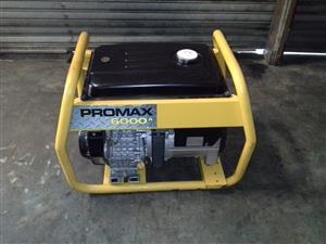 Promax 4.5kw Generator.