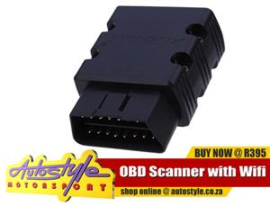 OBD Scanners with wifi and bluetooth. On-board diagnostics, self-diagnostic and reporting capability OBD Scanner with Wifi R395