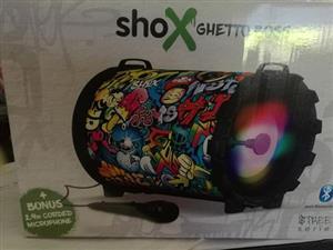 Groot shox speaker