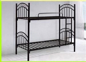 STEEL BUNKBEDS & STEEL DOUBLE COMPARTMENT LOCKERS FOR SALE