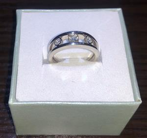 New .46ct Natural Diamond White Gold VS2 Wedding / Engagement Ring Valued at R17 500