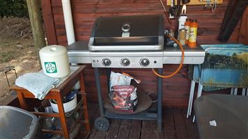 Alpha Gas braai for sale