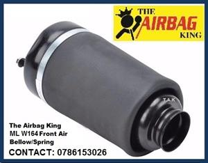 Front air suspension air spring / air bellows for Mercedes Ml w164