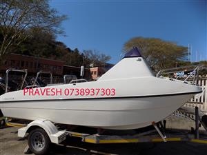 kosicat 16ft on trailer 2 x 60 hp suzuki 4 strokes